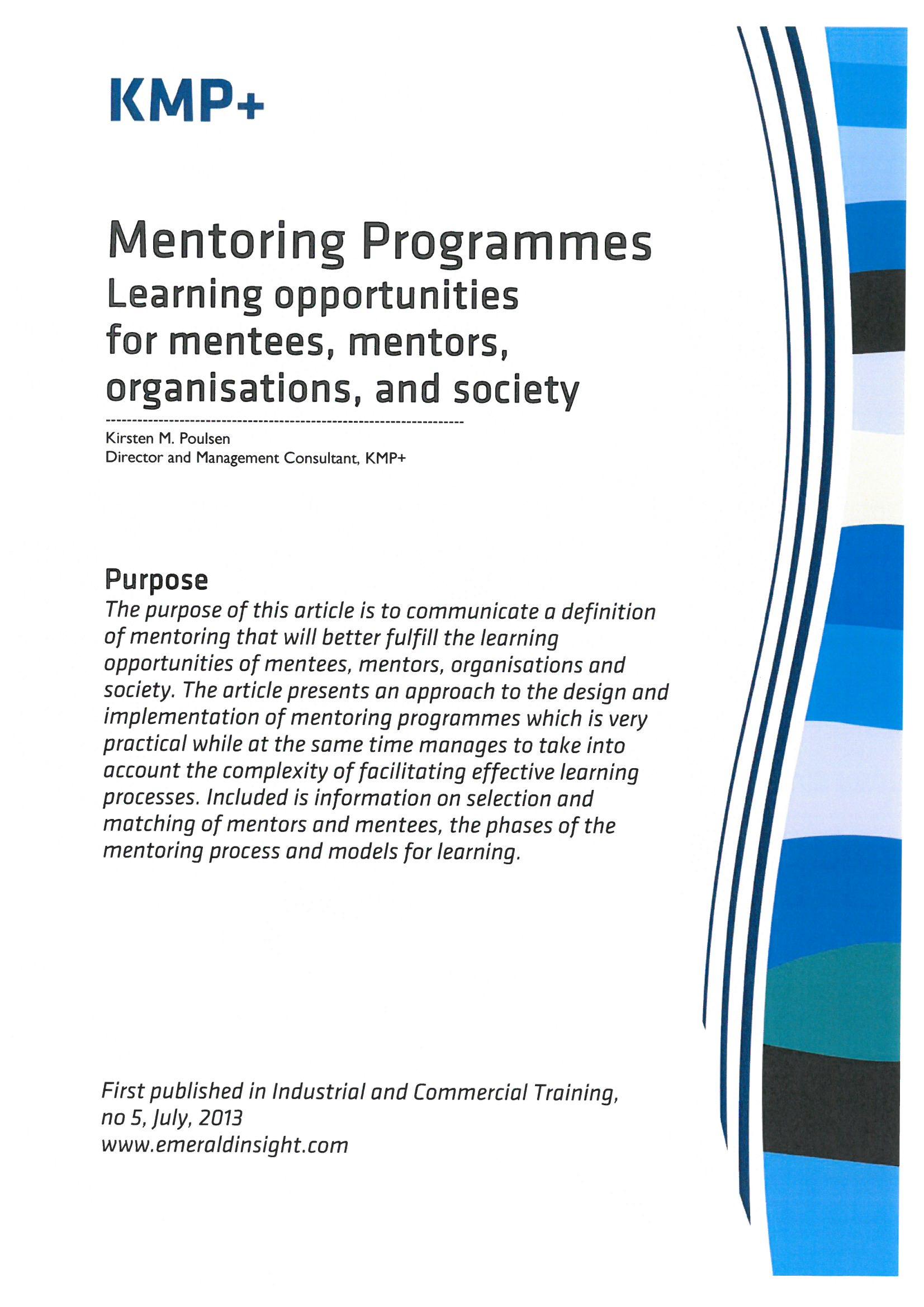 Forside mentor