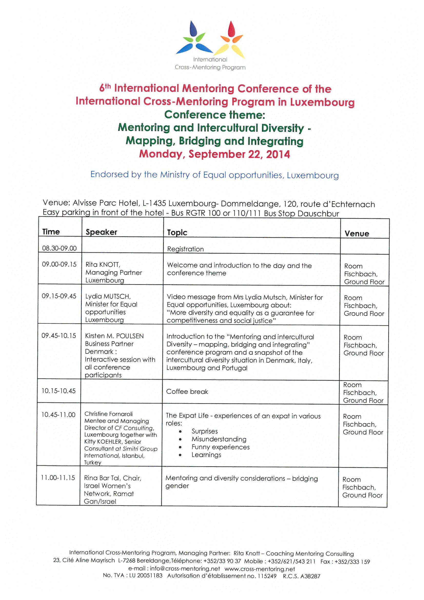 Internationa mentoring
