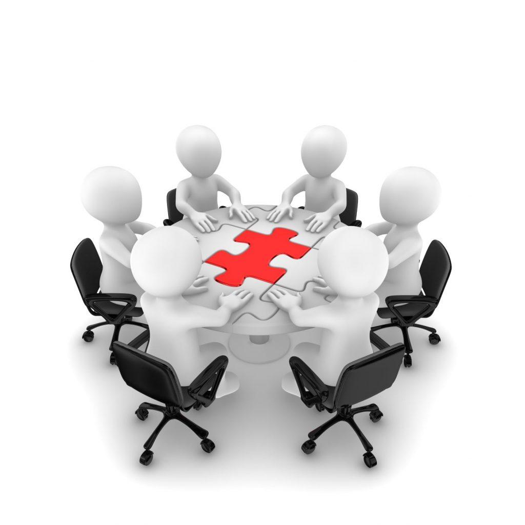 Cafe bord med mennesker - COLOURBOX23980338