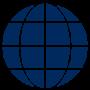 184a Globe blaa