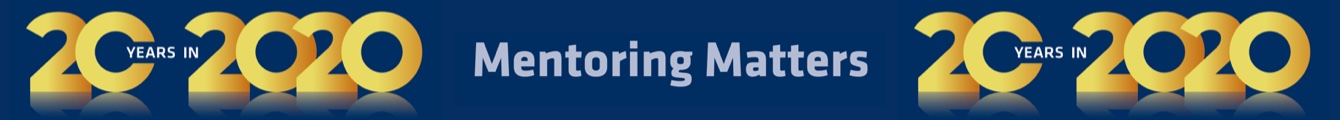 KMP+ Mentoring 20 years banner