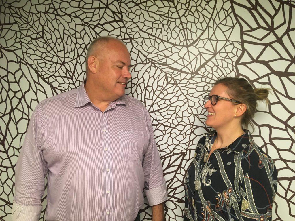 Foto: Mentor; Michael Jensen & mentee; Anne Bonde Kvorning